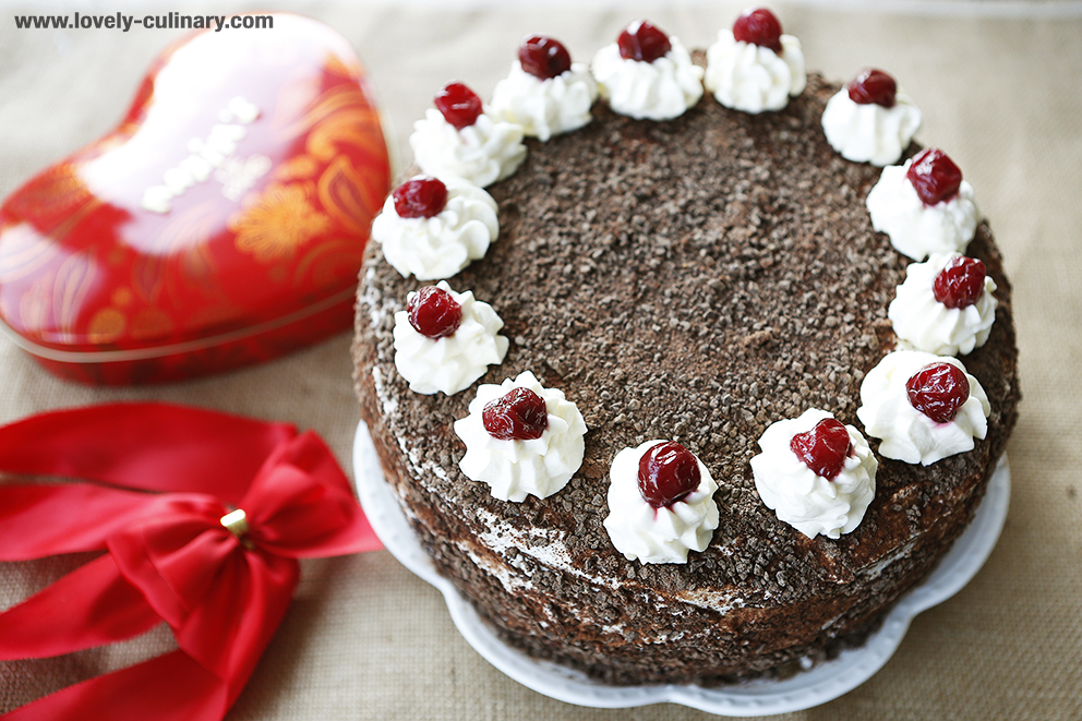 Tort resepti Black Forest