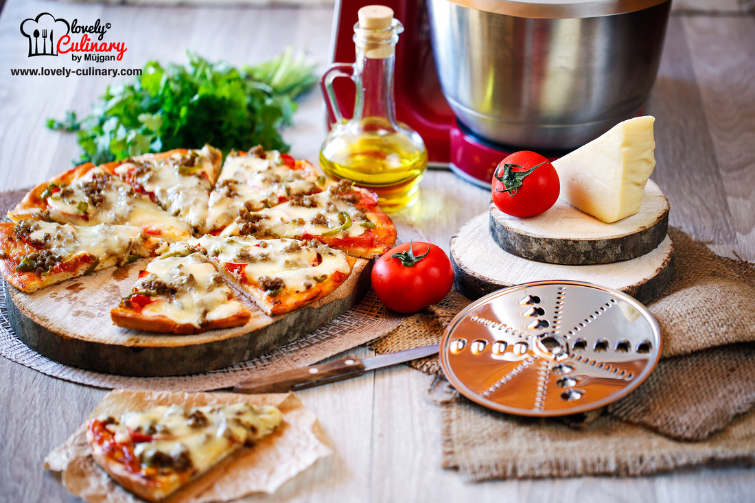Pizza resepti qiymeli